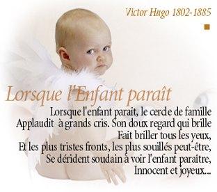 poeme 1 mois de bebe