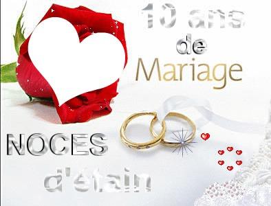 Poeme 10 Ans De Mariage