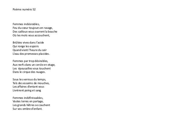 poeme 14 vers