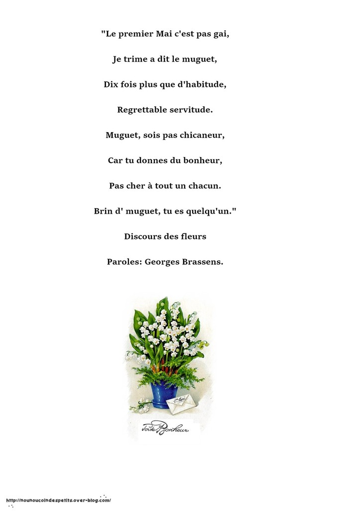 poeme 1er mai