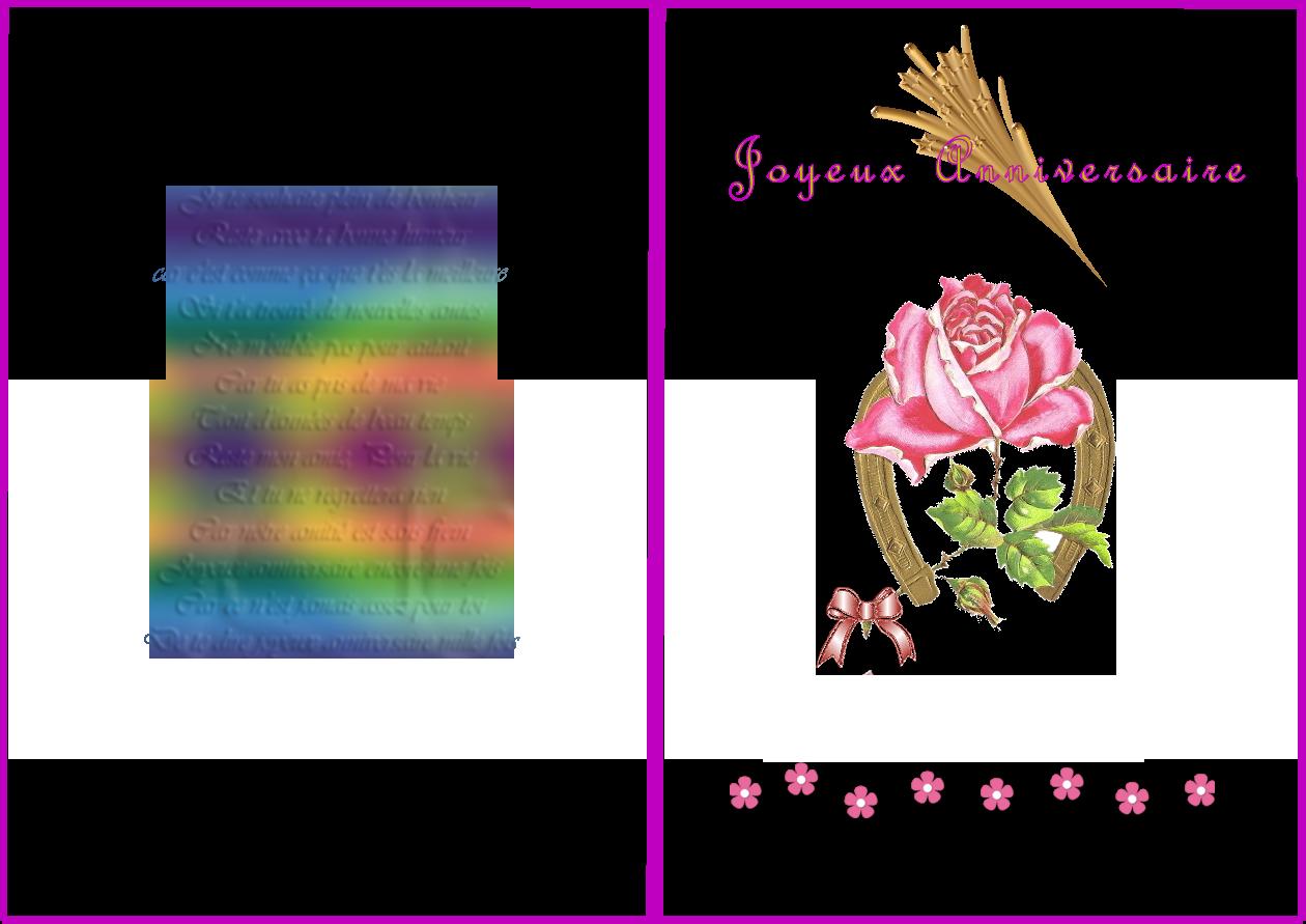 Poeme 2 Ans Anniversaire