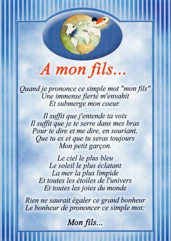 poeme d amour pour un fils
