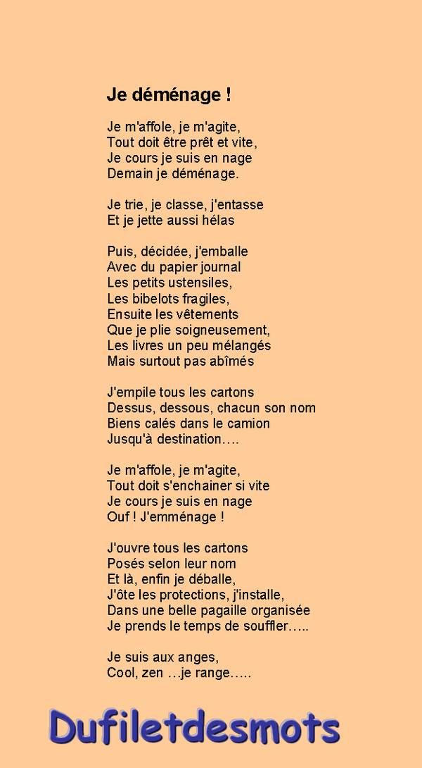 poeme 20 vers