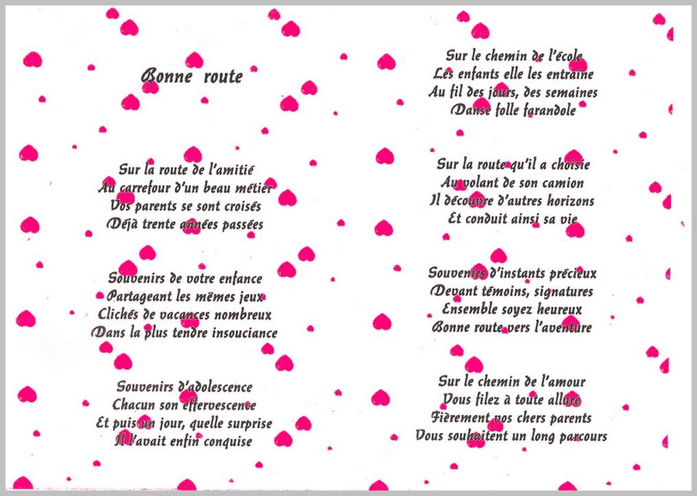 Poeme 25 Ans