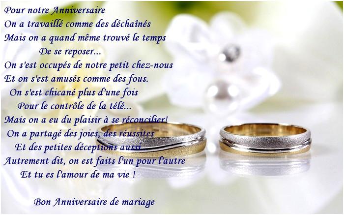 Poeme 3 Ans De Mariage