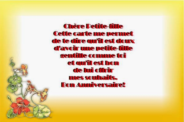 Poeme 30 Ans Fille