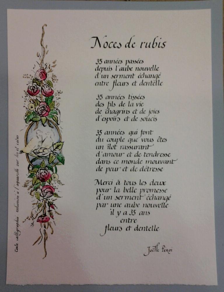 poeme 35 ans