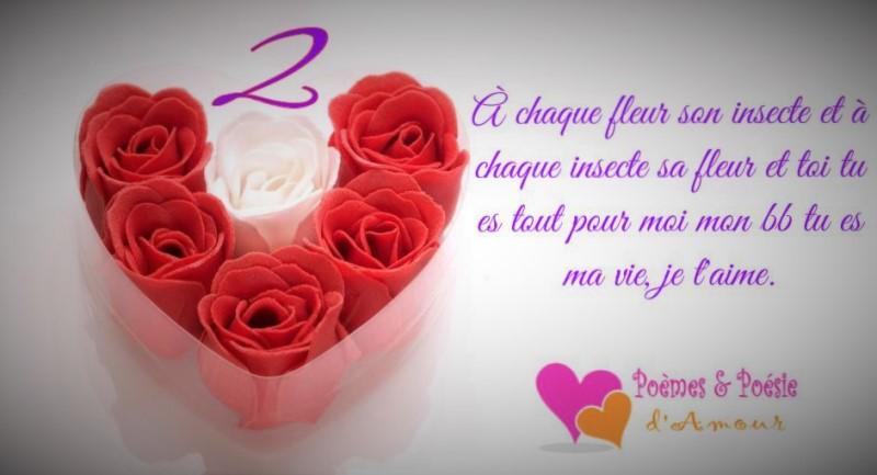 poeme 4 mois d'amour