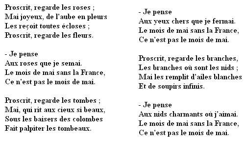 poeme 4 strophes