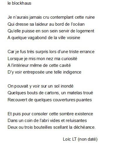 poeme 4 vers