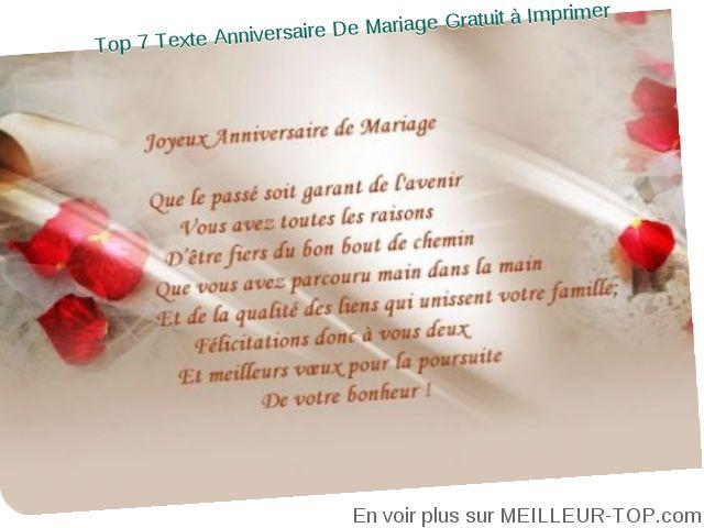 Poeme 45 Ans De Mariage