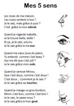 poeme 5 sens