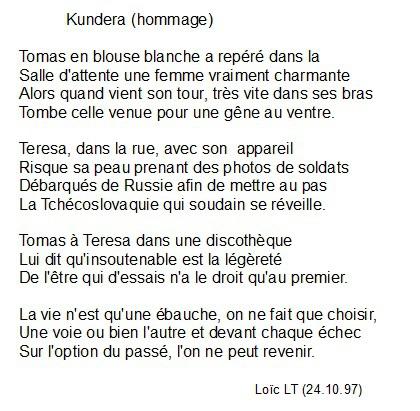 poeme 5 vers