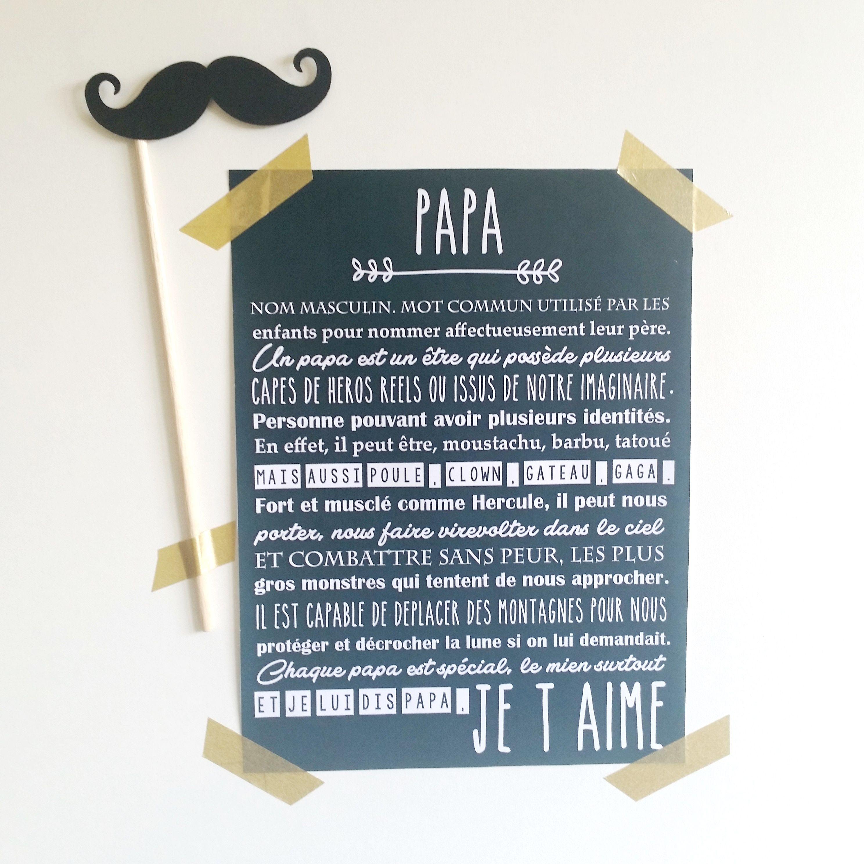 poeme 50 ans papa