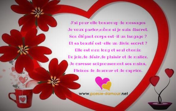 poeme 6 mois d'amour