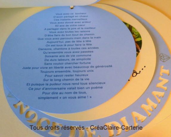 Poeme 60 Ans De Mariage