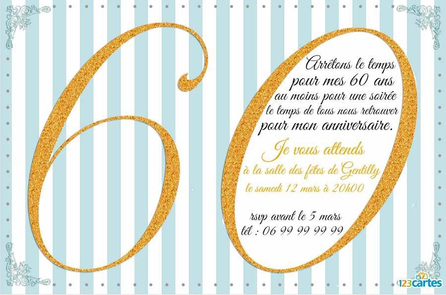 Poeme 60 Ans Homme