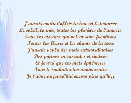 Poeme 60 Ans Mamie