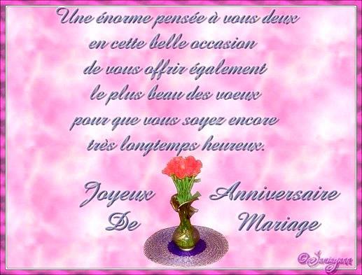 Poeme 65 Ans De Mariage