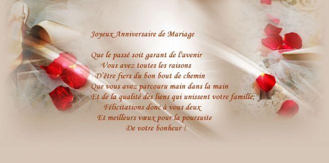 Poeme 7 Ans De Mariage