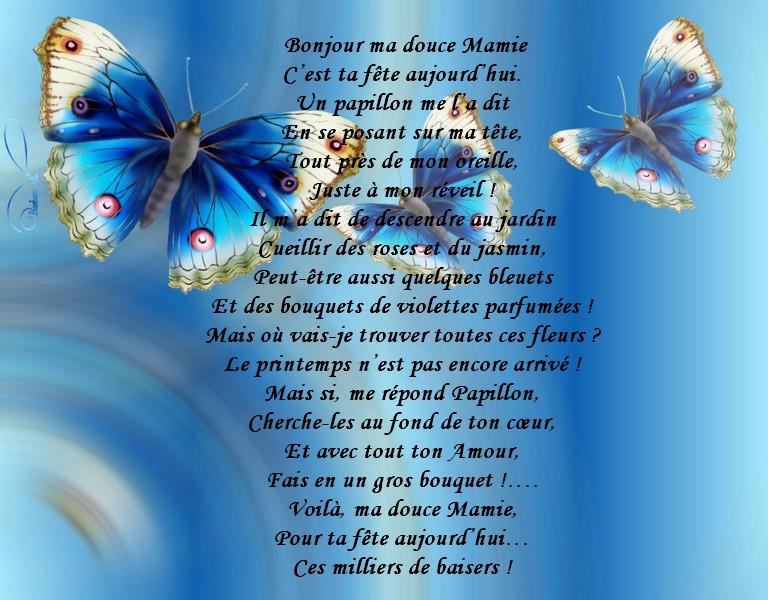 Poeme 70 Ans Mamie