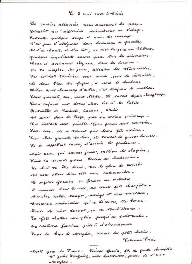 poeme 8 mai