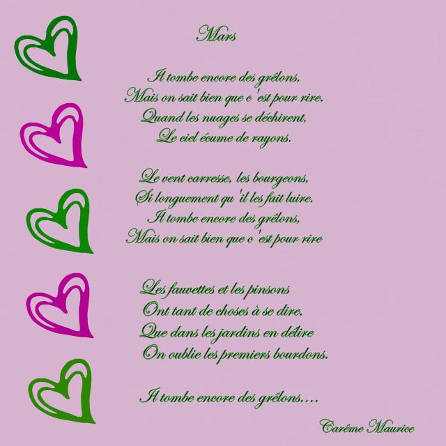 poeme 8 mois