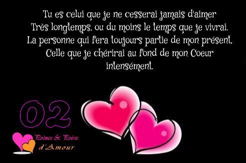 poeme 9 ans d'amour