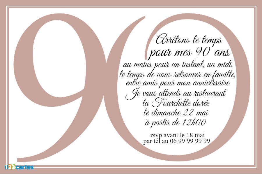 poeme 90 ans