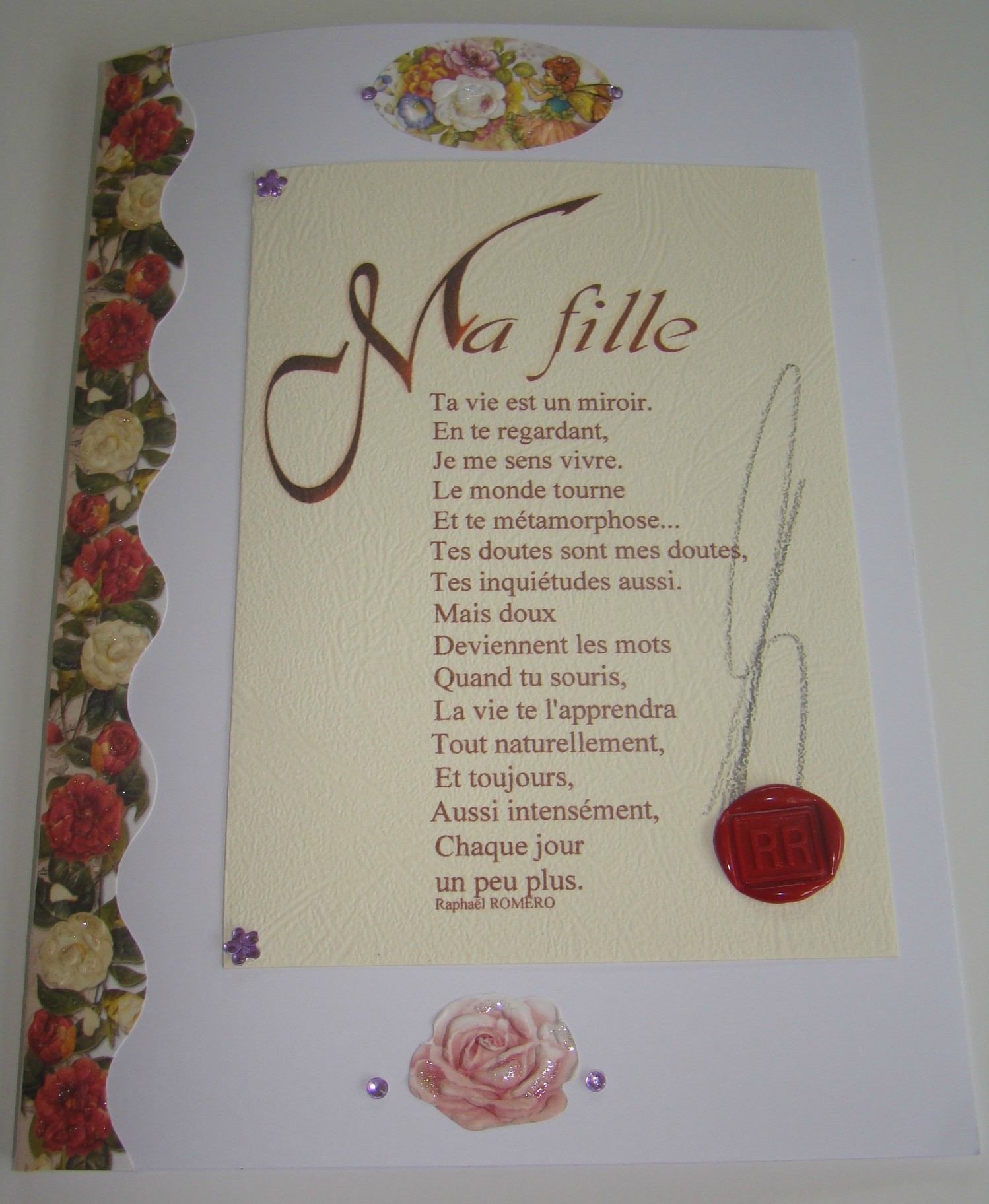 Poeme A Ma Fille Anniversaire