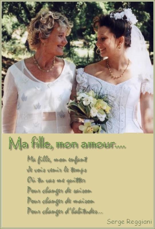 poeme a ma fille pour son mariage
