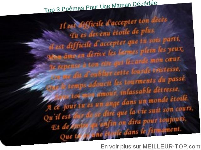 Poeme Anniversaire Maman Decedee How To Be Winner In Forex Trading