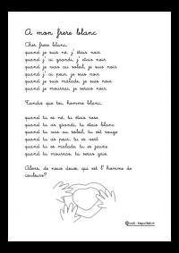 poeme a mon frere blanc senghor