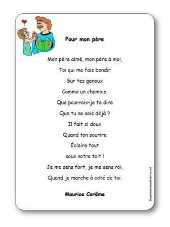 poeme a mon pere