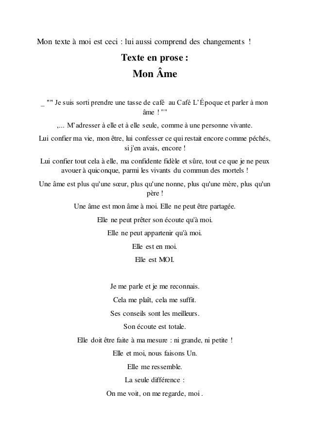 poeme ame