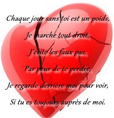 poeme amour perdu