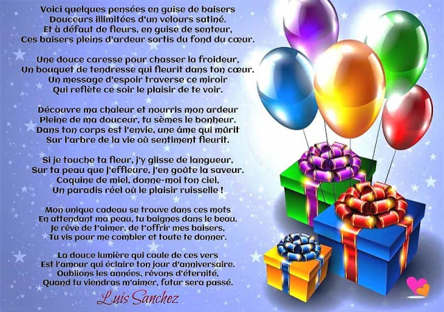 poeme anniversaire