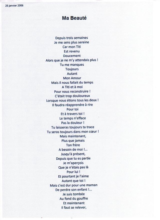 poeme beaute