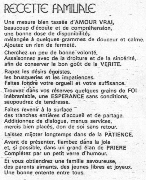poeme bonheur famille