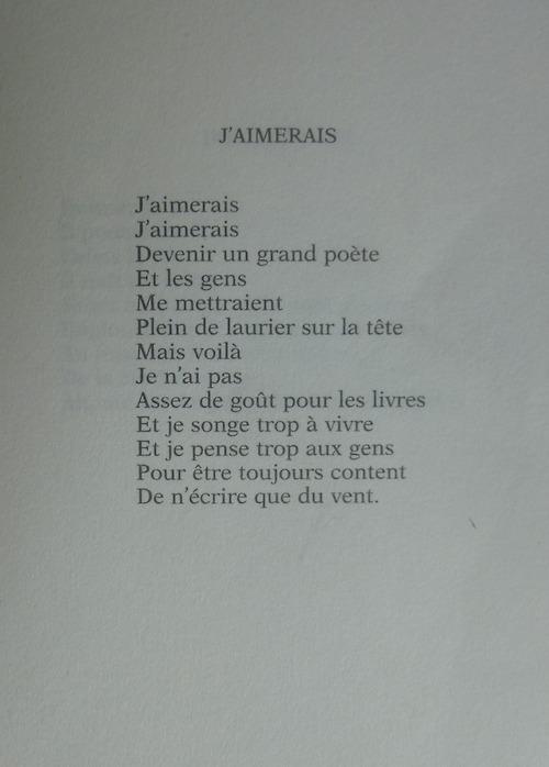 Poeme Boris Vian