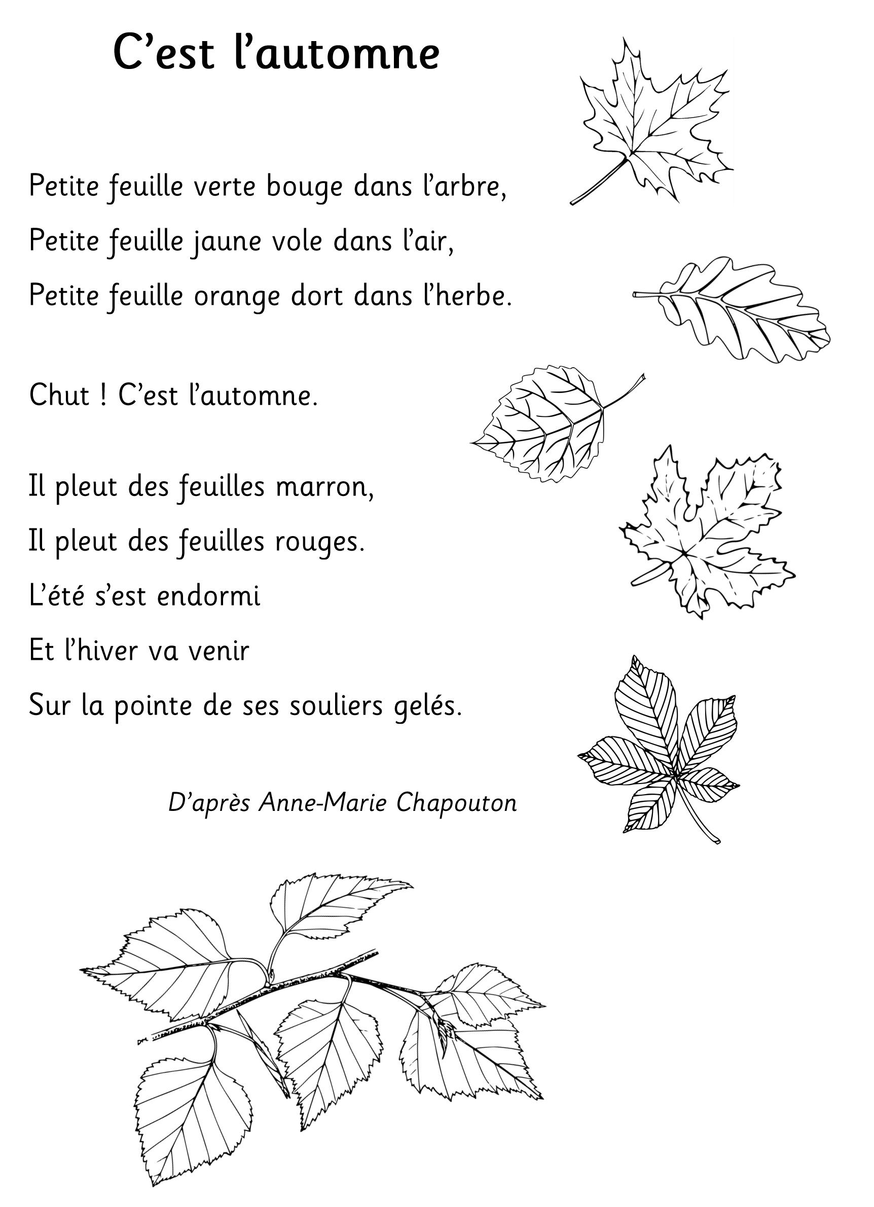 Poeme C Est L Automne