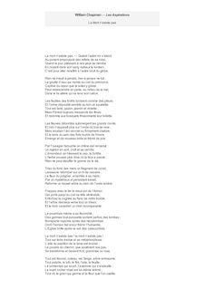 poeme ca n'existe pas