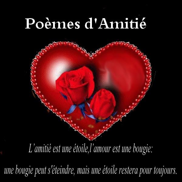 Poeme D Amitie Tres Touchant