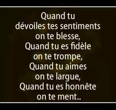 poeme d'amour triste