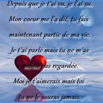 poeme d amour