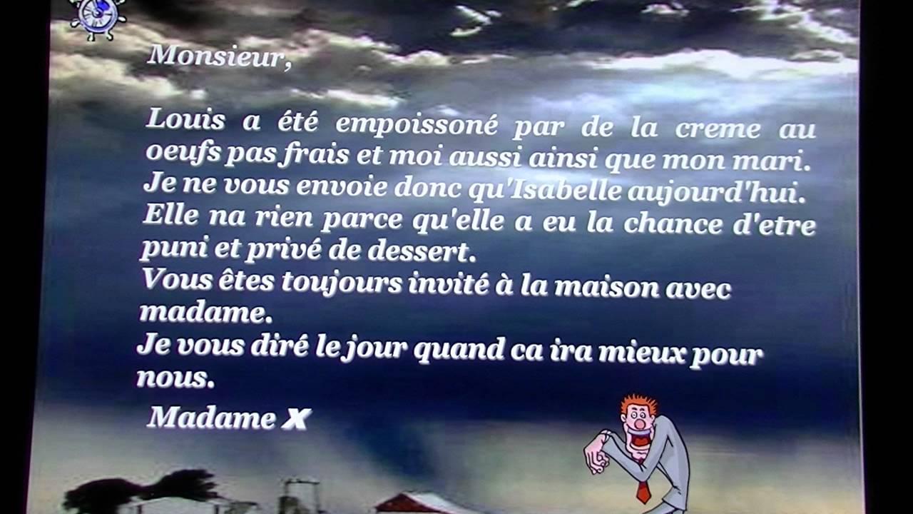 poeme d'excuse