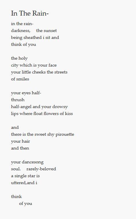 poeme e cummings