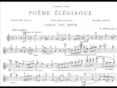 poeme elegiaque