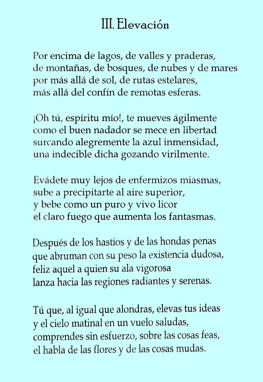 poeme elevation