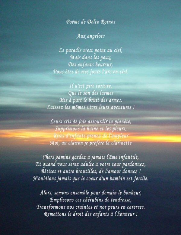 poeme emouvant